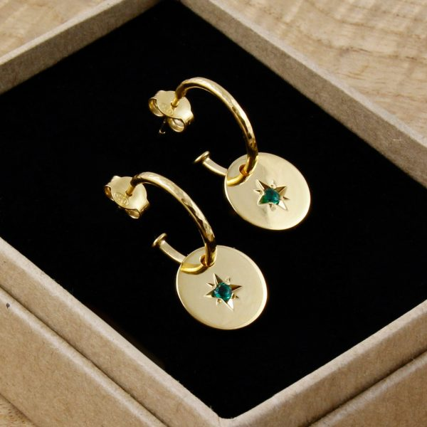 Emerald Star Earrings | Margot & Mila | House Brand | By Rory