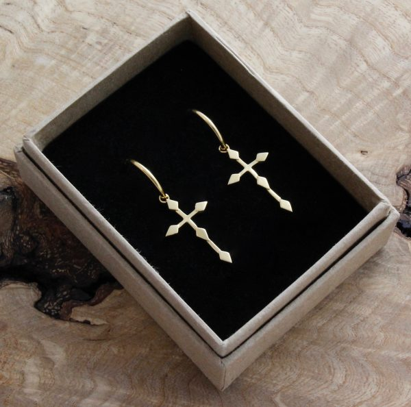 Crucifix Earrings | Margot & Mila | House Brand | By Rory