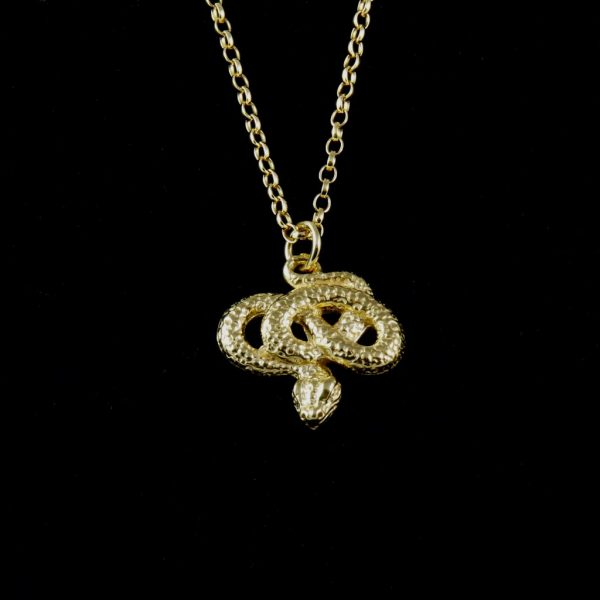 Snake Charm Necklace | Margot & Mila | House Brand | By Rory