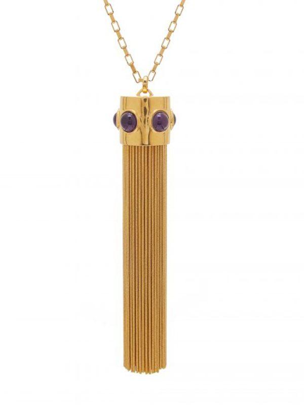 Studio 54 Chain Tassel Pendant