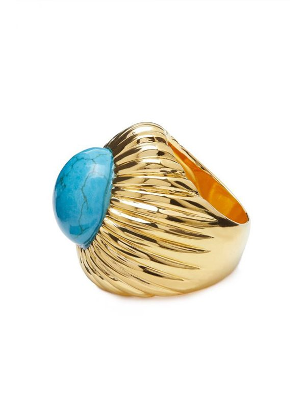 Turquoise Begum Ring