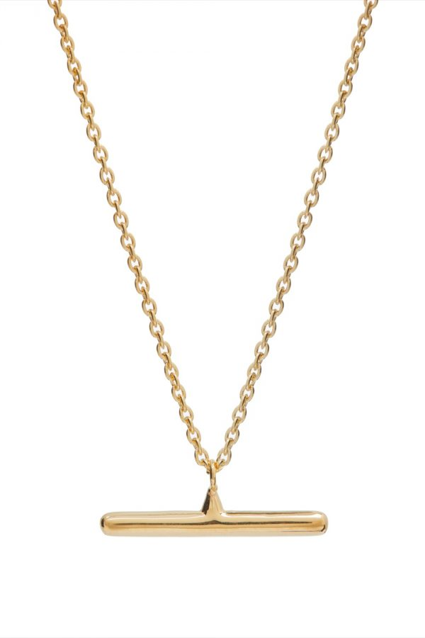 By Rory X Theodora Warre T-Bar Necklace   Collaborations   By Rory