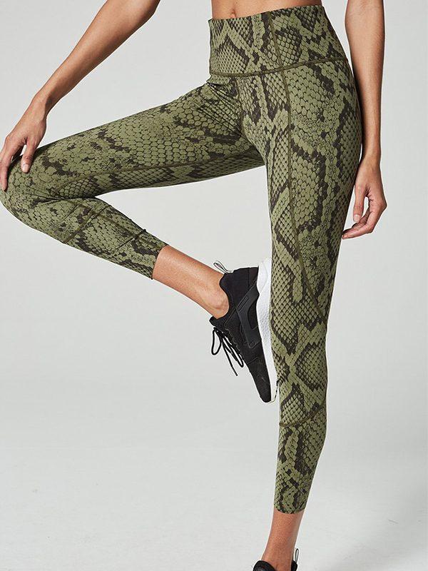 Bedford legging olive snake