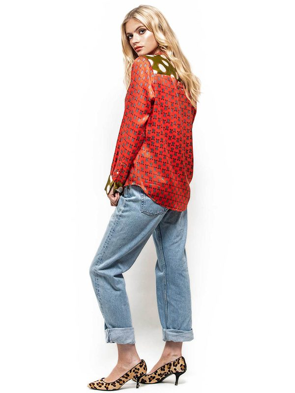 Love Bugs Slimline Silk Shirt