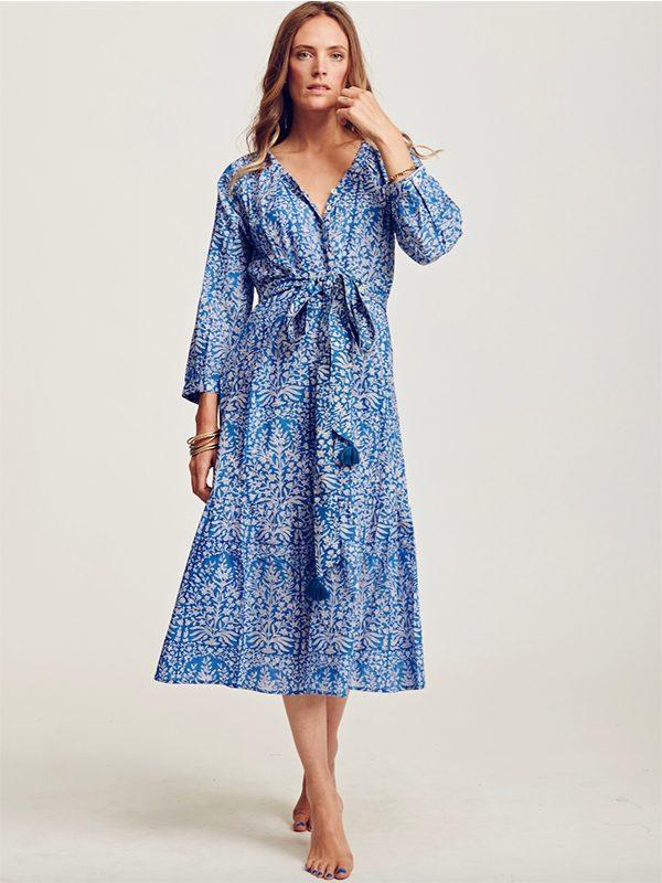 Boho Dress (Azure Botanics)