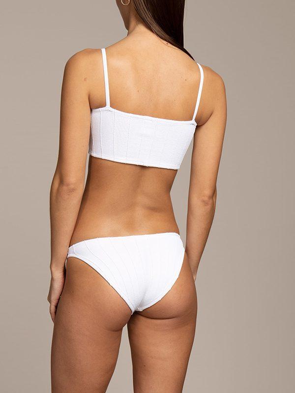 Hunza G Nile Bikini (White)