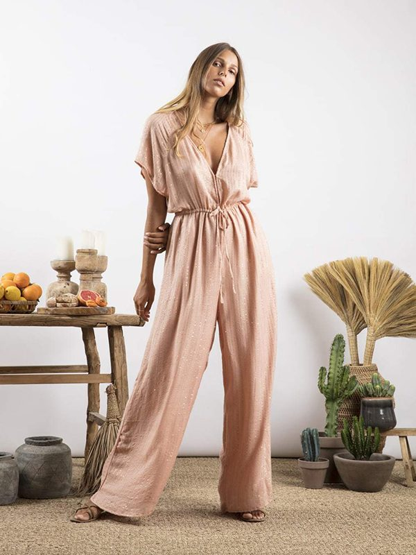 Pam Jumpsuit Roma Tan