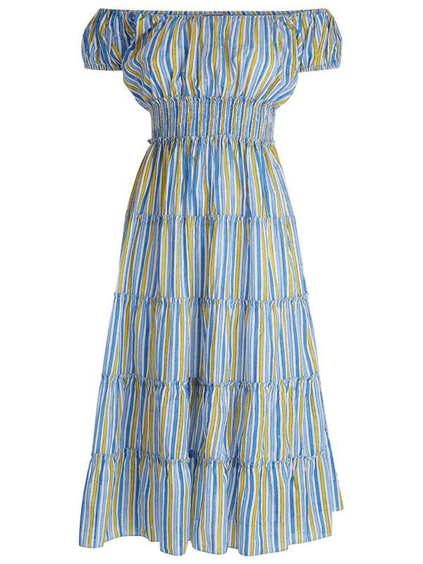 Rah Rah Dress (Summer Stripes)