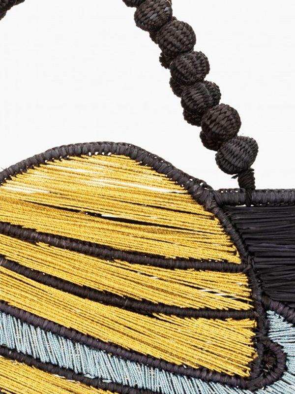 Golden Saturn Handbag