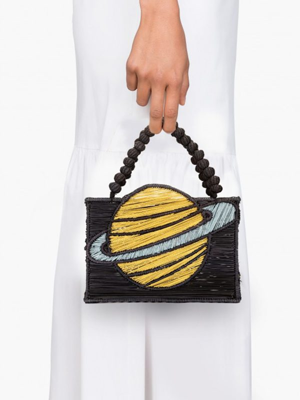 Golden Saturn Handbag