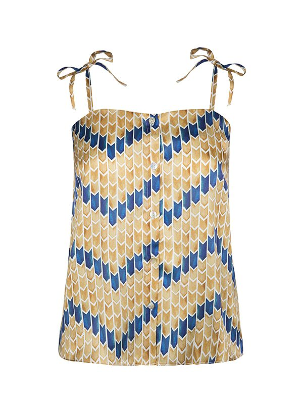 Iris Top (Batik Sand)