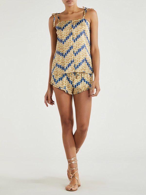 Paloma Shorts (Batik Sand)