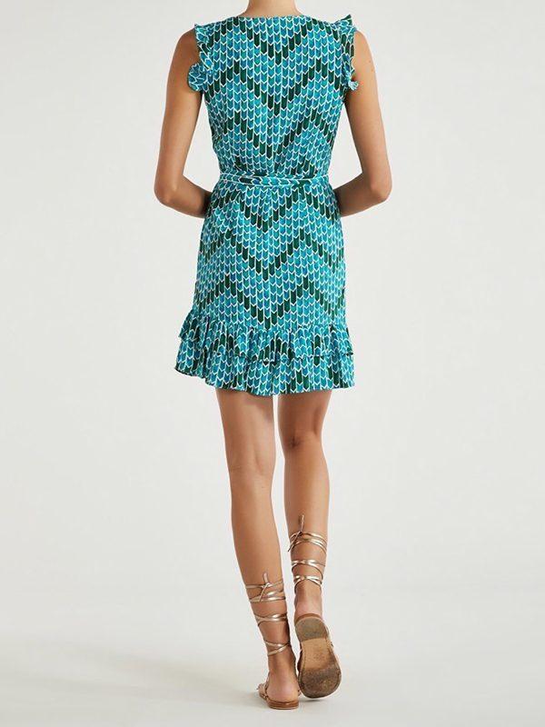 Melody Dress (Batik Aqua)