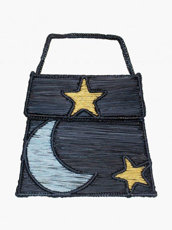 Moon Between Stars Handbag