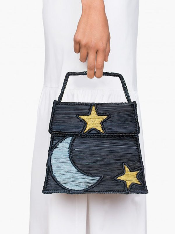 Moon Between Stars Handbag
