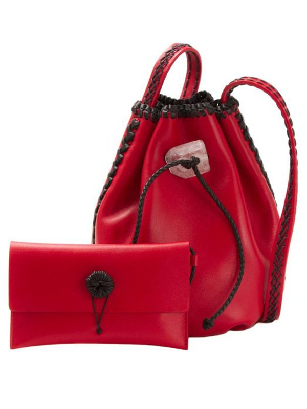 Nirmala Ruby Red (Leather)