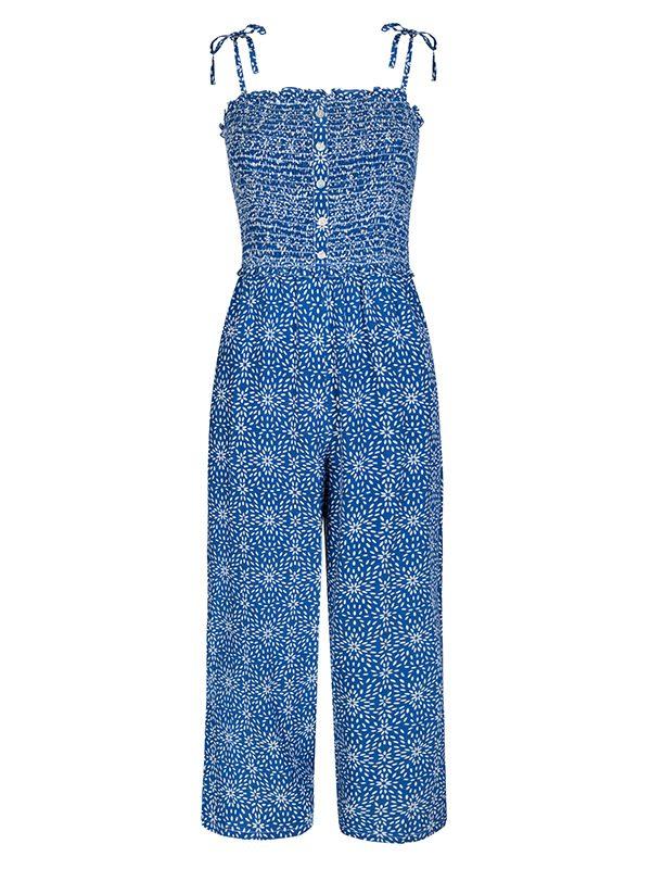 Paloma Blue Pearl Jumpsuit (Jasmine Navy)