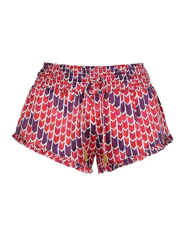 Paloma Shorts (Batik Ruby)