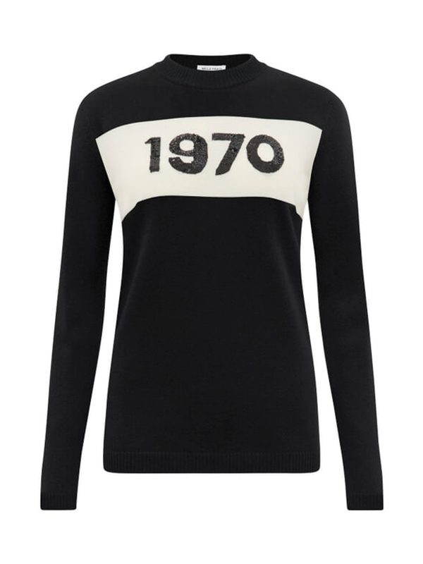 1970 Sequin Jumper (Black)