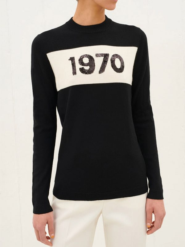 1970 Sequin Jumper (Black)